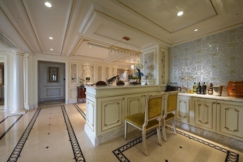 泛海国际香海园305平五居室户型装修设计-武汉别墅装修